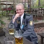 1. Schützenmeister Marcell Kampe