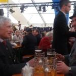 S. H. K. Luitpold Prinz von Bayern im Gespräch mit dem 2. Schützenmeister Jens Zirkler